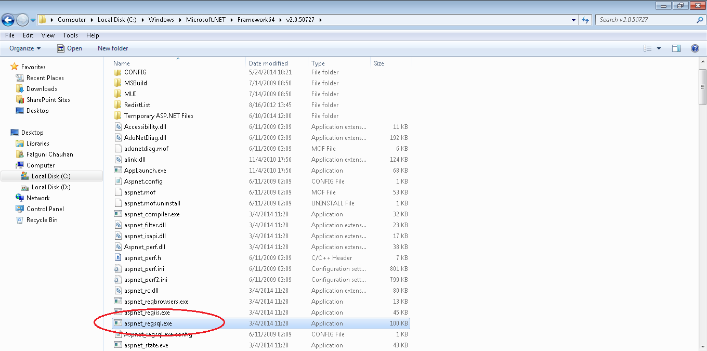 Path of aspnet_regsql.exe file