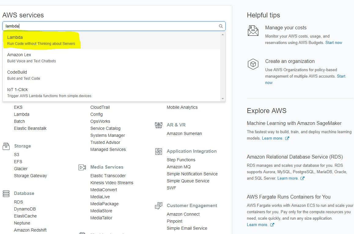4 Easy Steps to Create a Serverless Application using AWS Lambda