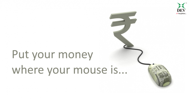 put your money where your mouse is