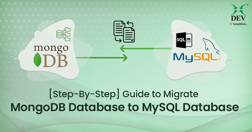 How to Migrate from MongoDB to MySQL database