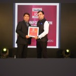 Mr. Vishal Vasu - CTO, Dev Information Technology Ltd. received the award