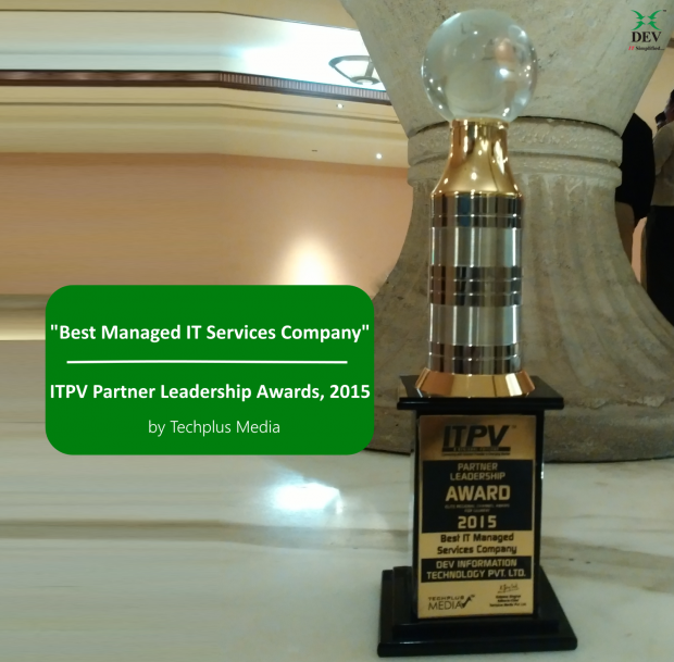 Best Managed IT Services Company award