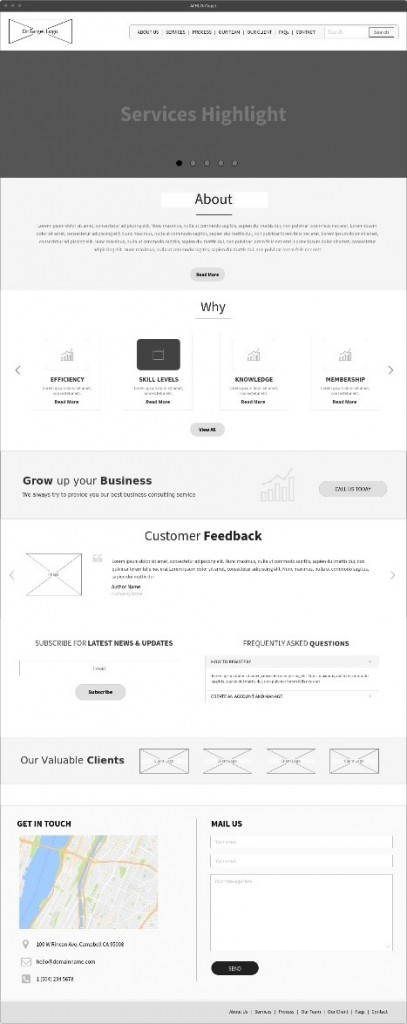 Wireframing and Prototyping