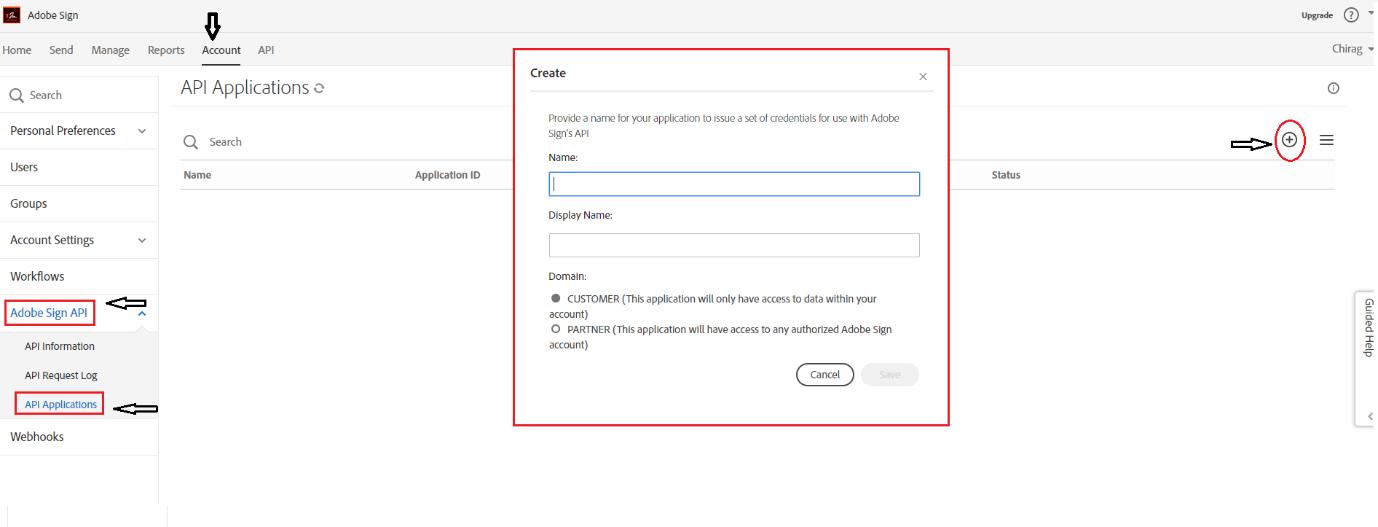 Adobe eSign integration