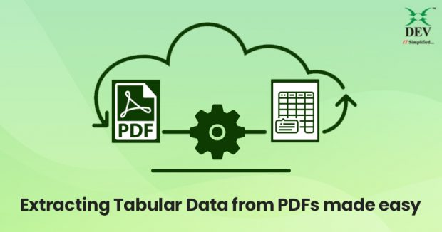 Simple Ways to Extract Tabular Content from PDFs