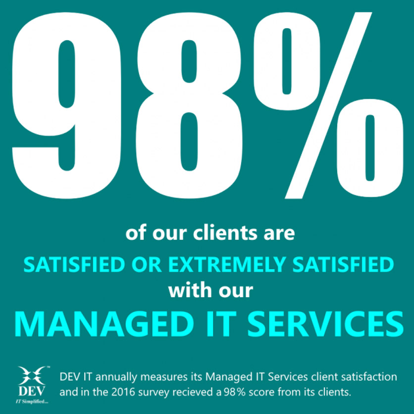 Announcing the 2016 Managed IT Services Client Satisfaction Survey Results