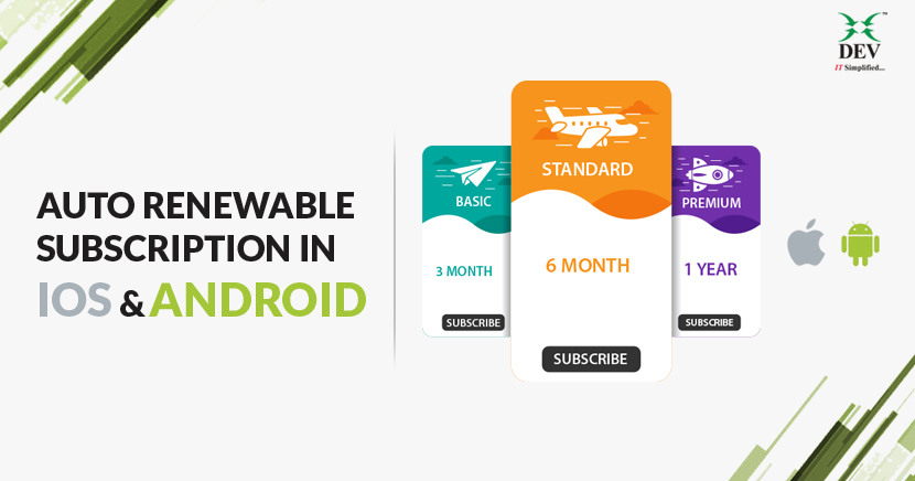 Auto Renewable Subscriptions in iOS and Android