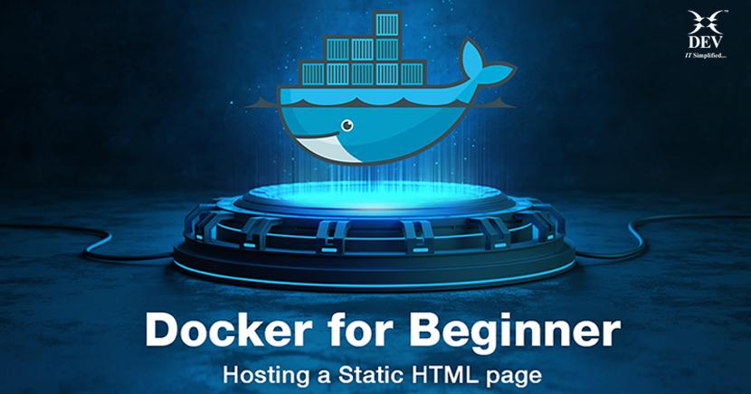 Docker for Beginner – Hosting a Static HTML page