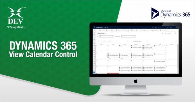 Dynamic 365 View Calendar Control