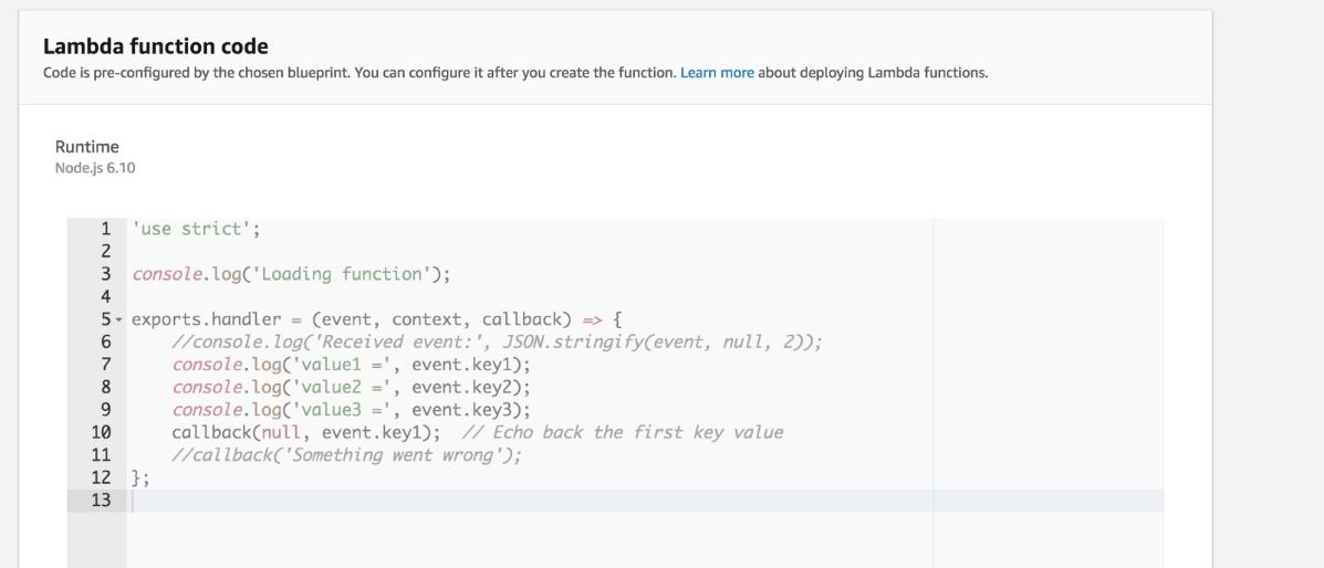 S3 and Lambada Configuration
