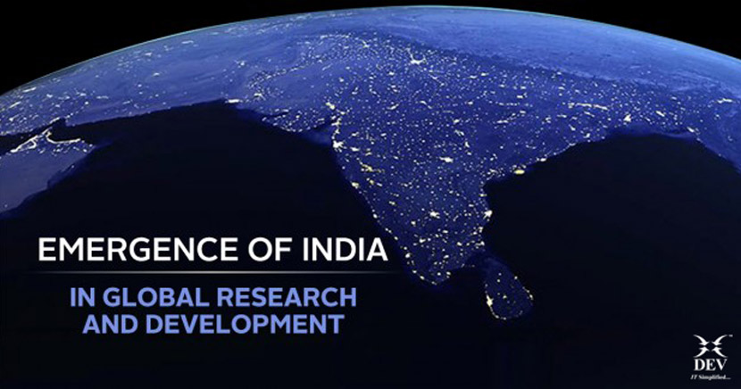 India's position in Global R&D, challenges faced & improvements required