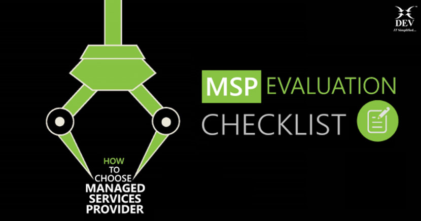 Managed Services Provider Evaluation Checklist | Making Better Decisions That Matter