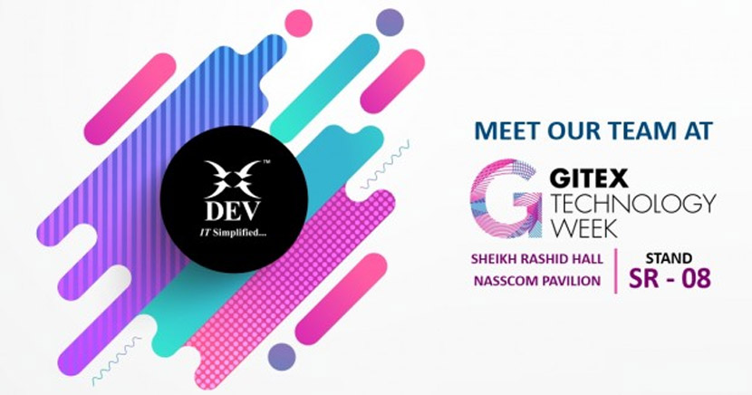 Meet Us at GITEX 2017, Sheikh Rashid Hall, NASSCOM Pavilion | Stand: SR – 08