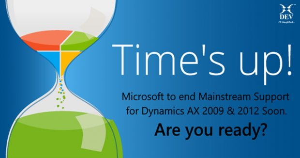 Microsoft Dynamics AX Mainstream Support to End Soon. Didn't See It Coming? Don't Panic!