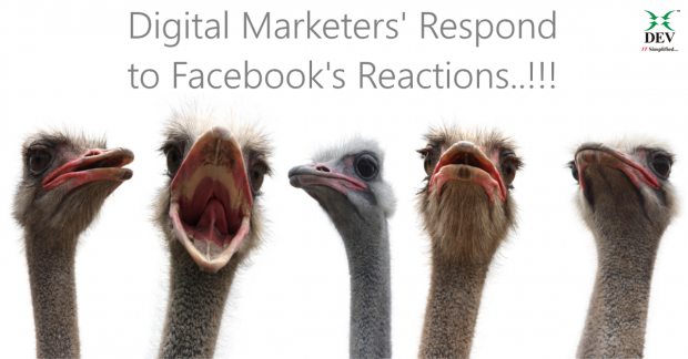 Digital Marketers React to Facebooks Reactions