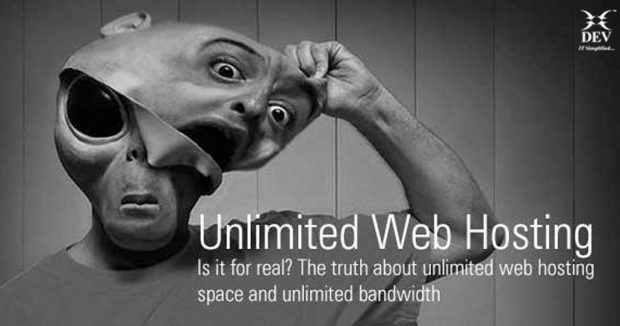 Unlimited Web Hosting - Unveiling the Truth